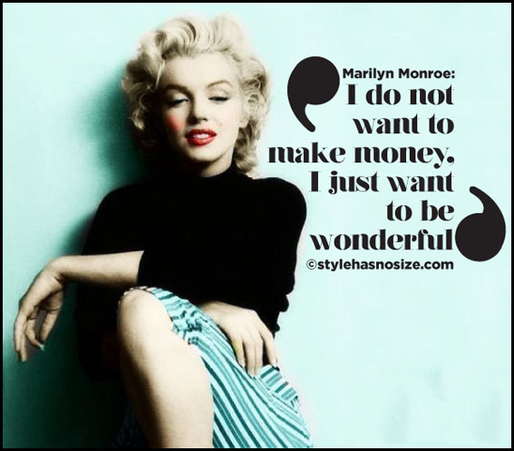 Messed Up Life Quotes: Marilyn Monroe Fashion Quotes. QuotesGram