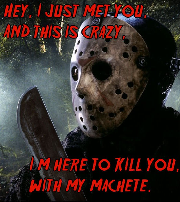Jason Voorhees Funny Quotes. QuotesGram