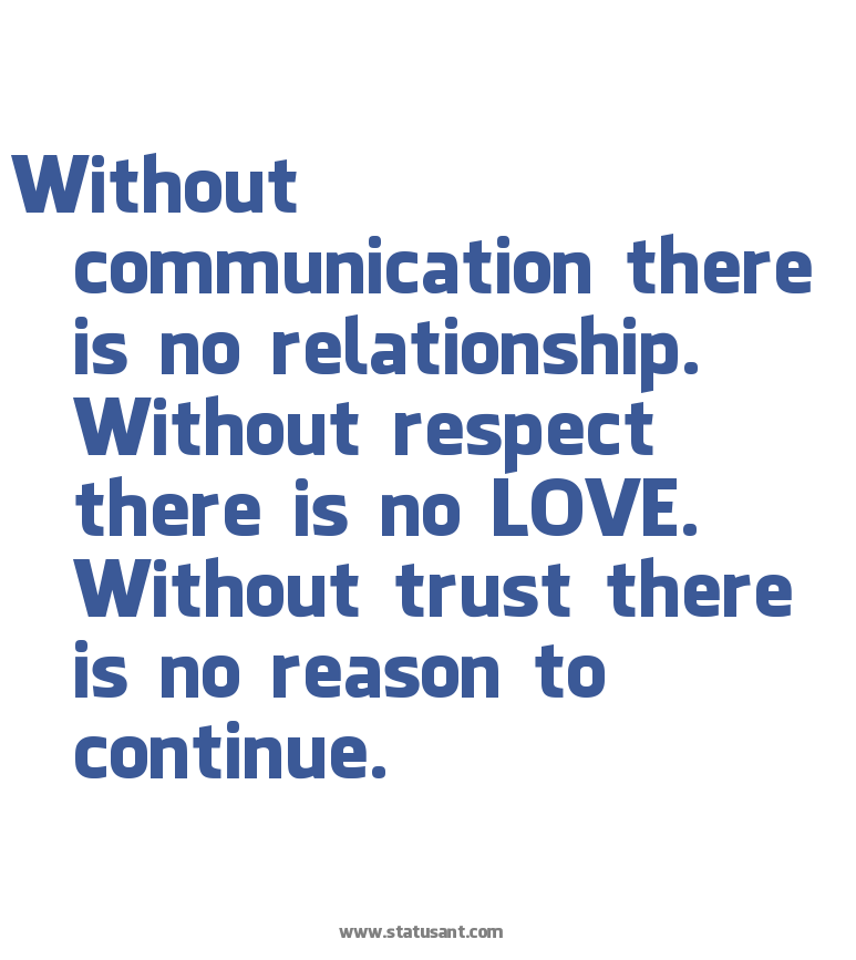 Teamwork Relationship Quotes: Without Communication Quotes. QuotesGram