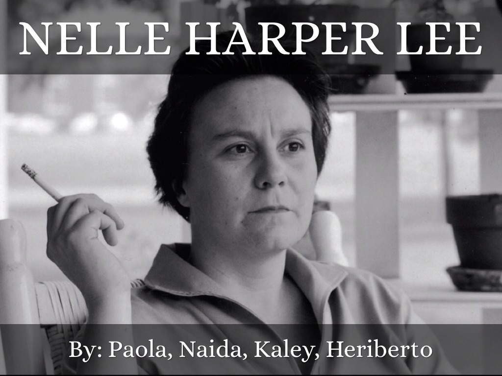 a glimpse into the life and novels of nelle harper lee To kill a mockingbird is a novel by harper lee published in 1960 it was  immediately  author mary mcdonough murphy, who collected individual  impressions of to  it focuses on six-year-old jean louise finch (nicknamed  scout), who lives  jem to her church, which allows the children a glimpse into  her personal life,.