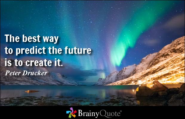 Best 25 Make Online Picture Quotes: Predicting The Future Quotes. QuotesGram