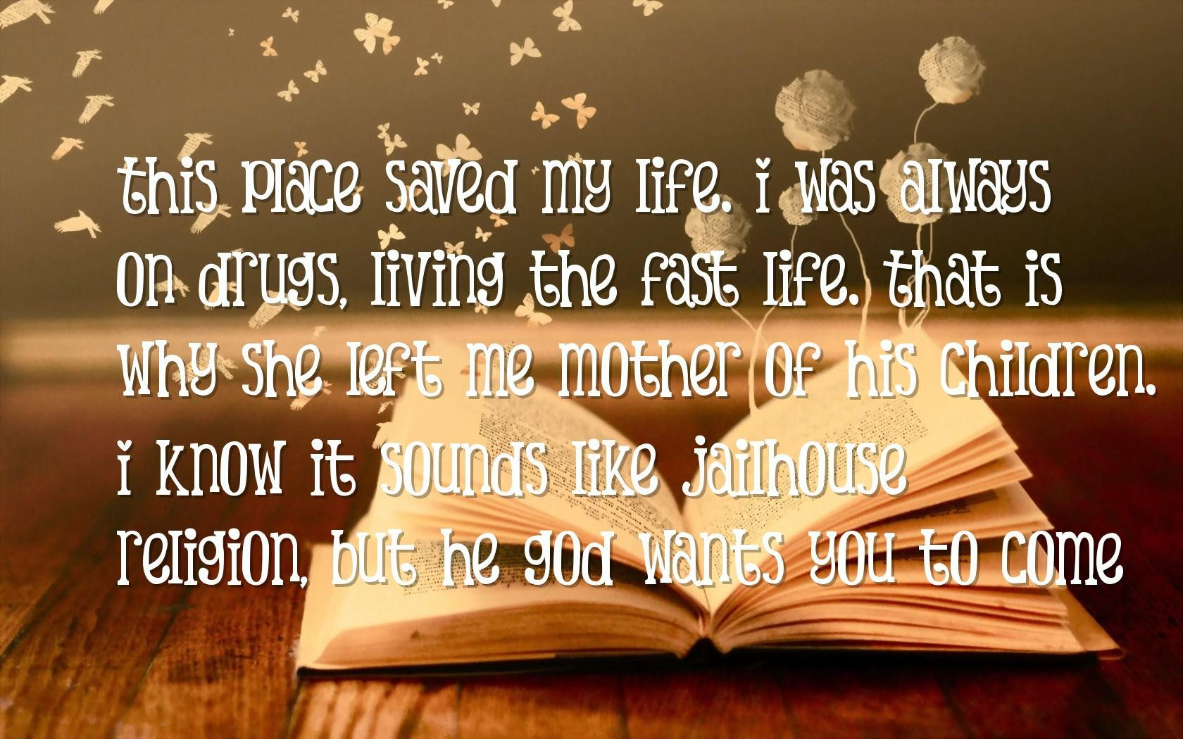 Life Messages And Quotes: You Saved My Life Quotes. QuotesGram