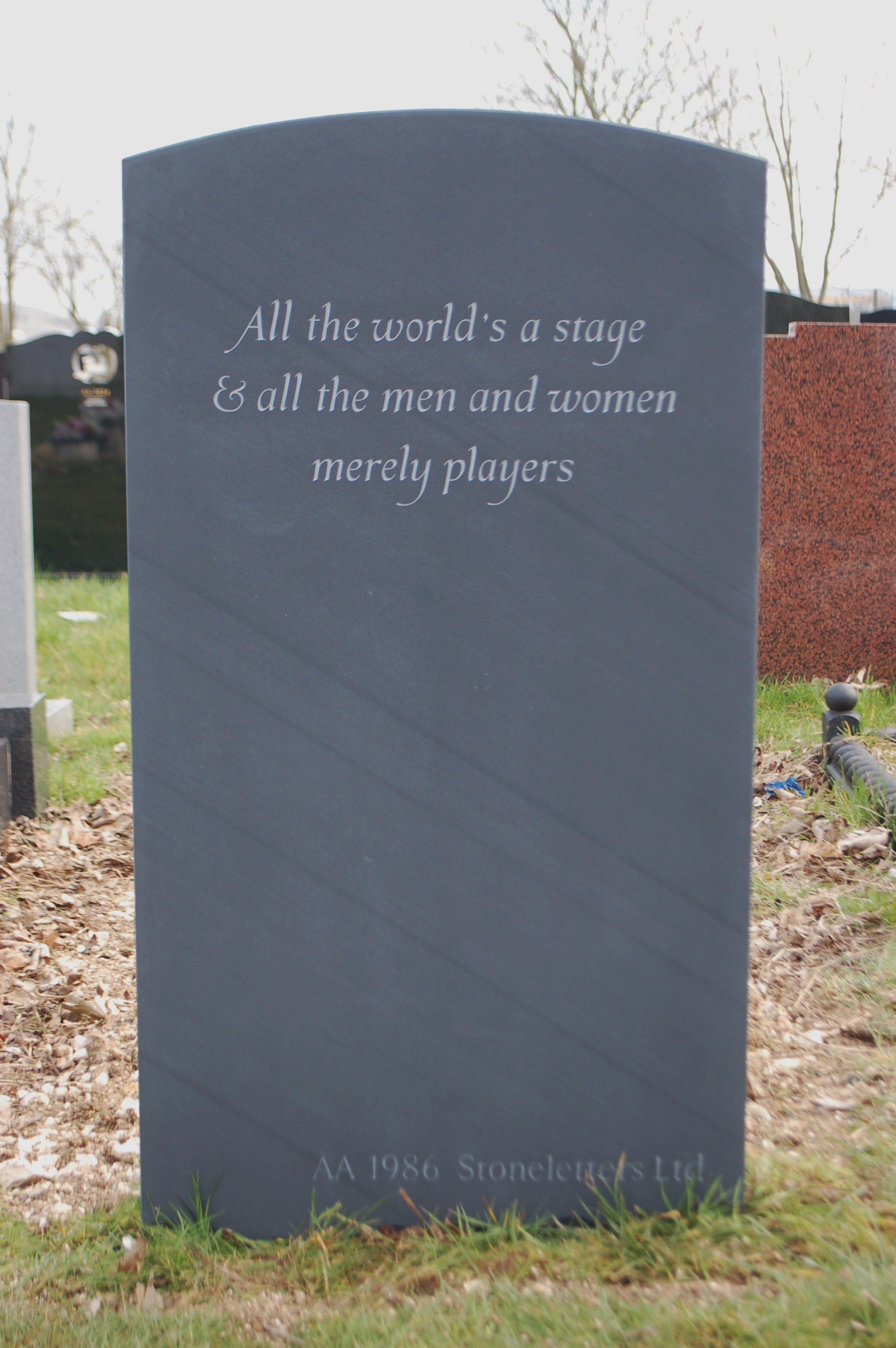 Quotes To Put On Headstone Quotesgram