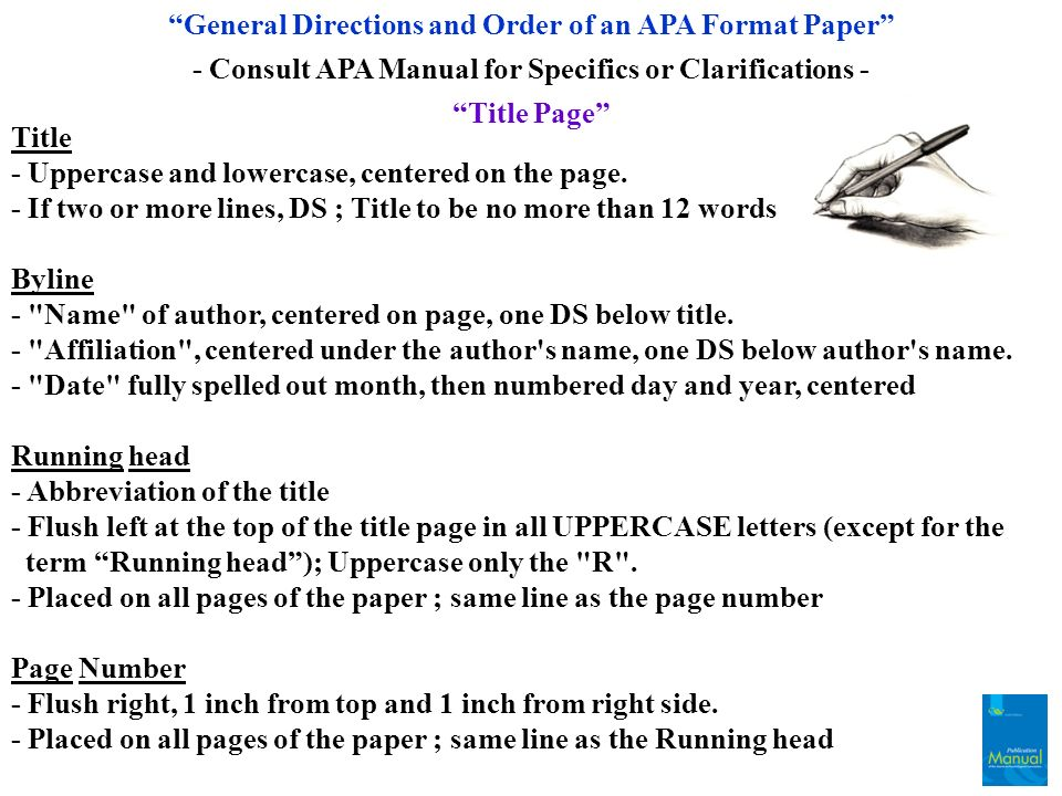 how to order authors in apa