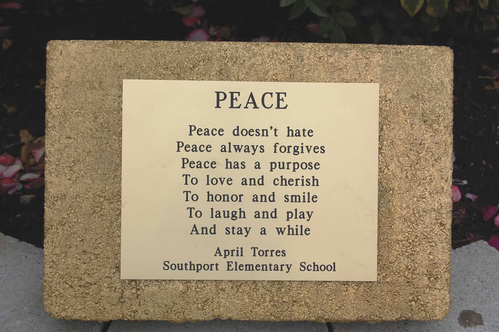 Peace Quotes And Poems Quotesgram