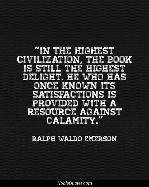 ralph waldo emerson education essay quotes