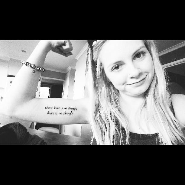 Women Strength Quotes Tattoos Quotesgram: Quotes About Strength Tattoo. QuotesGram