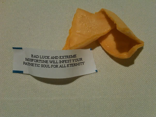 Bad Fortune Cookie Quo...