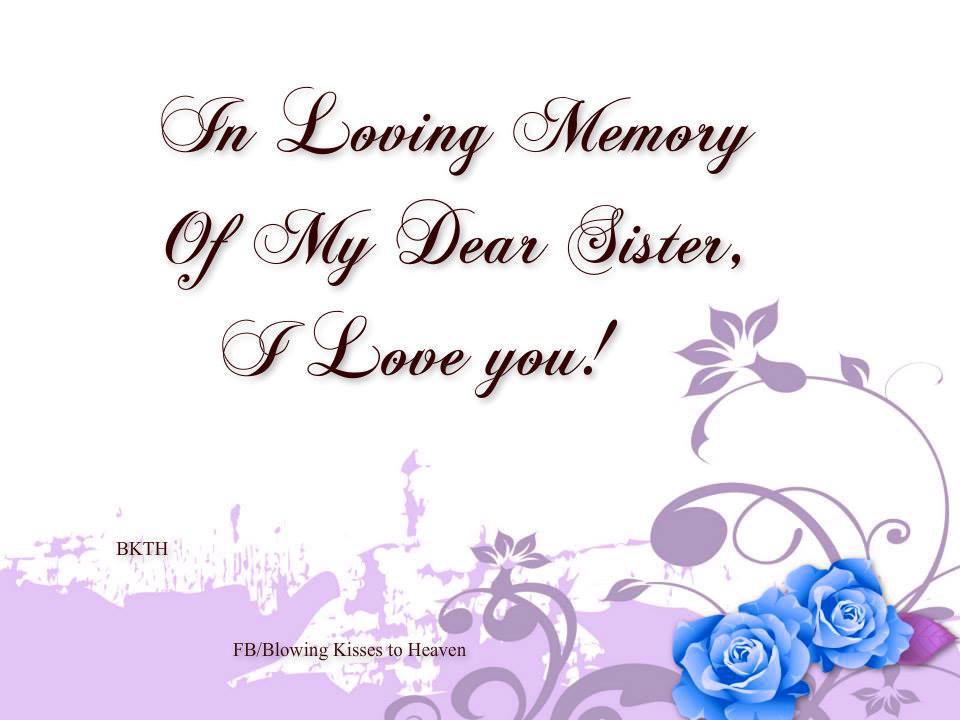 missing my sister in heaven quotes quotesgram
