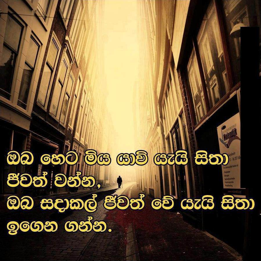 Famous Quotes About Life In Sinhala. QuotesGram