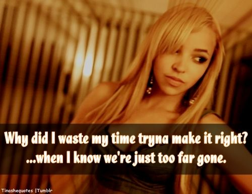 Quotes About Love By Tinashe. QuotesGram