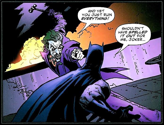 бэтмен знакомство с джокером