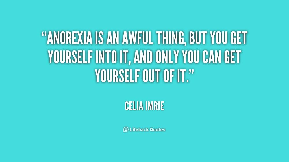Anorexia Inspirational Quotes Quotesgram