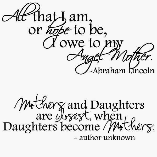 Mother Daughter Christian Quotes. QuotesGram