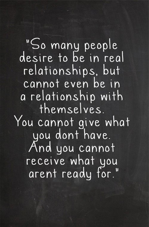 not ready for a relationship quotes