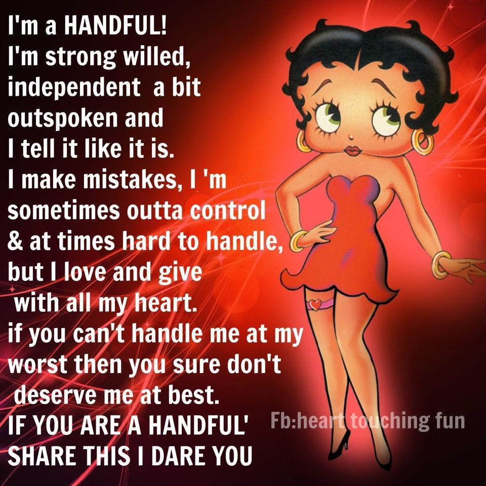 Betty Boop Pictures And Quotes: Betty Boop Inspirational Quotes. QuotesGram