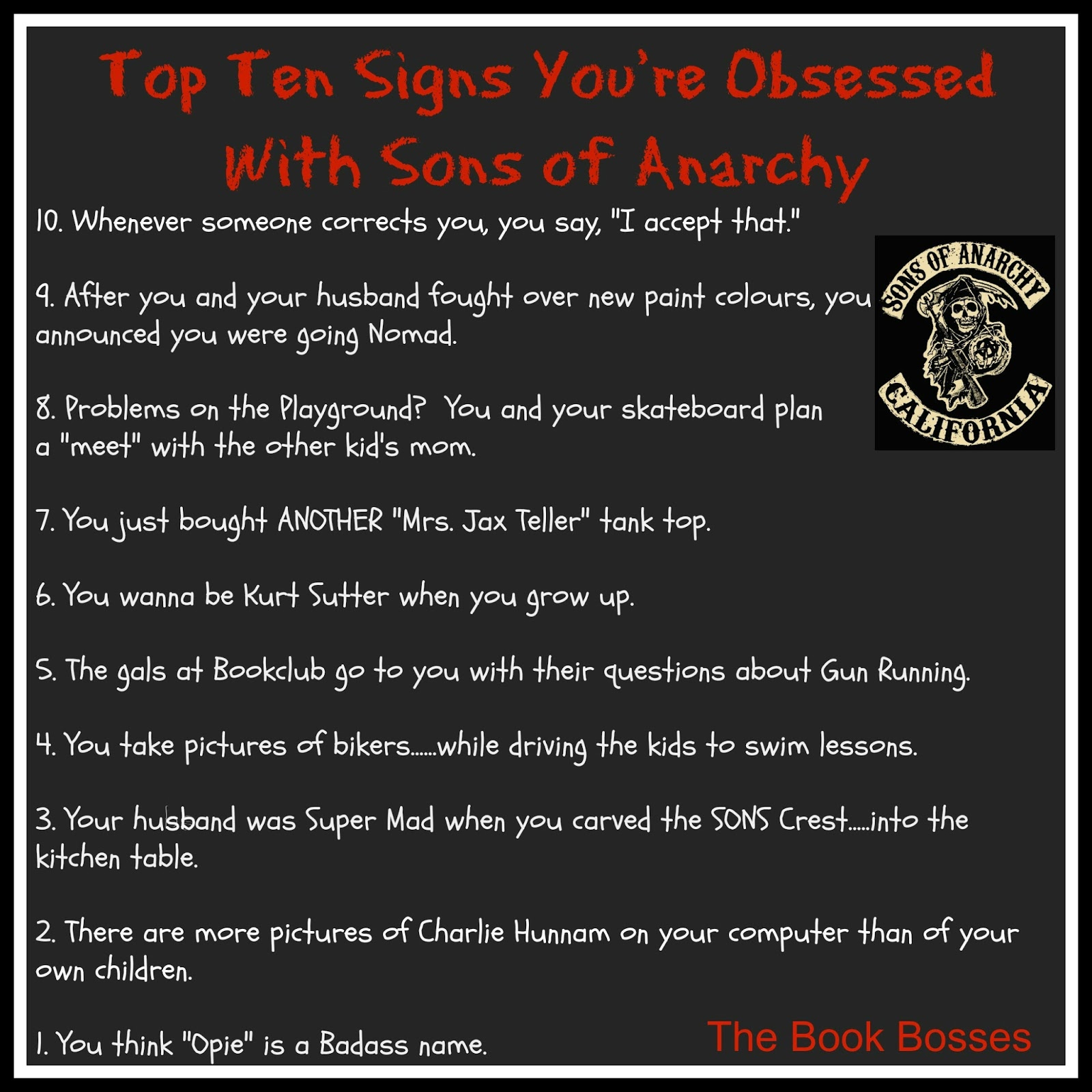 Quotes And Sayings: Sons Of Anarchy Funny Quotes. QuotesGram