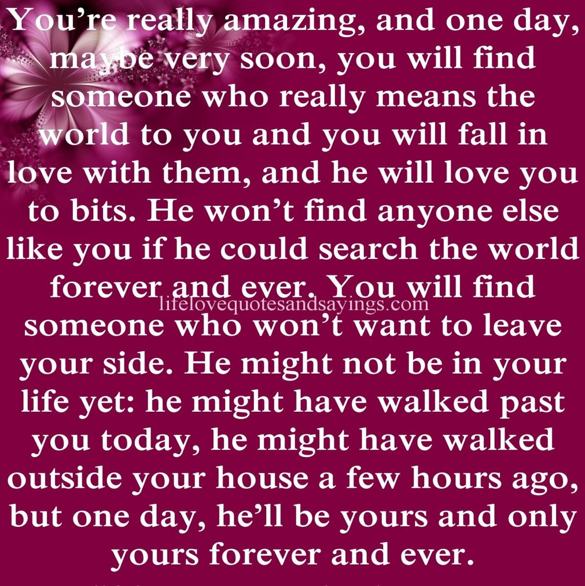 Loving Someone Picture Quotes: Truly Loving Someone Quotes. QuotesGram