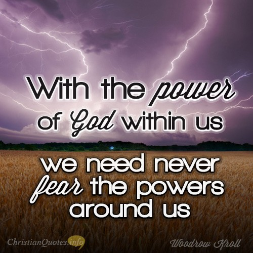 Power Of God : Power of god quotes quotesgram