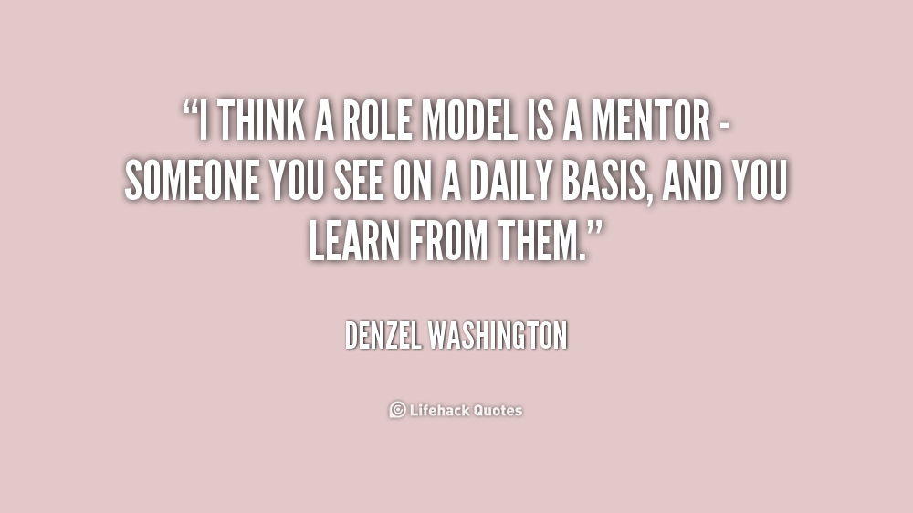 how to become a good role model