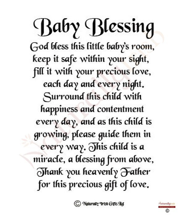 Baby Poems And Quotes: Irish Baby Blessings Quotes. QuotesGram