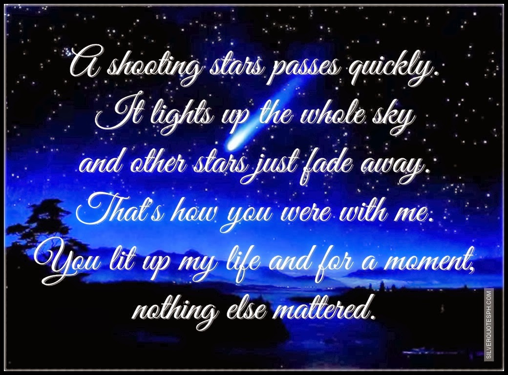 Shooting Star Quotes. QuotesGram