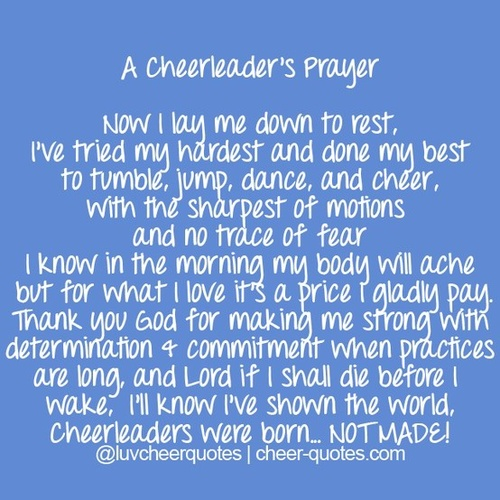 Good Luck Cheerleading Competition Quotes. QuotesGram