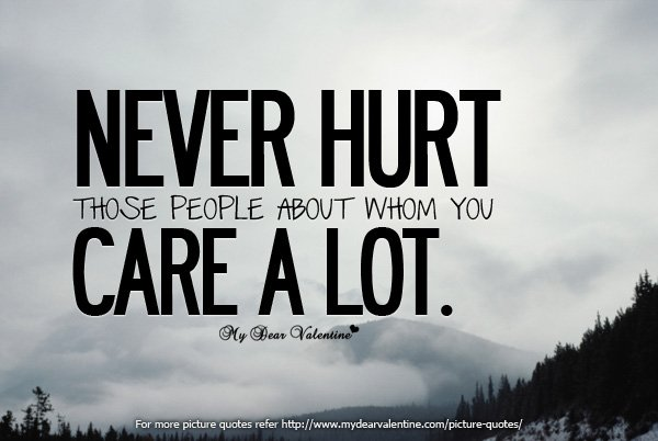 Quotes About Hurting Peoples Feelings. QuotesGram