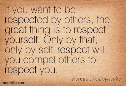 being respectful to others essay The other day on my free coaching call an i was raised to be respectful everyone is capable of doing and being someone completely different.