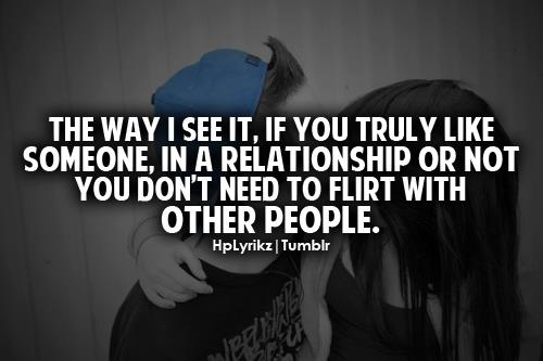 Quotes About Being A Flirt: Flirting With My Boyfriend Quotes. QuotesGram
