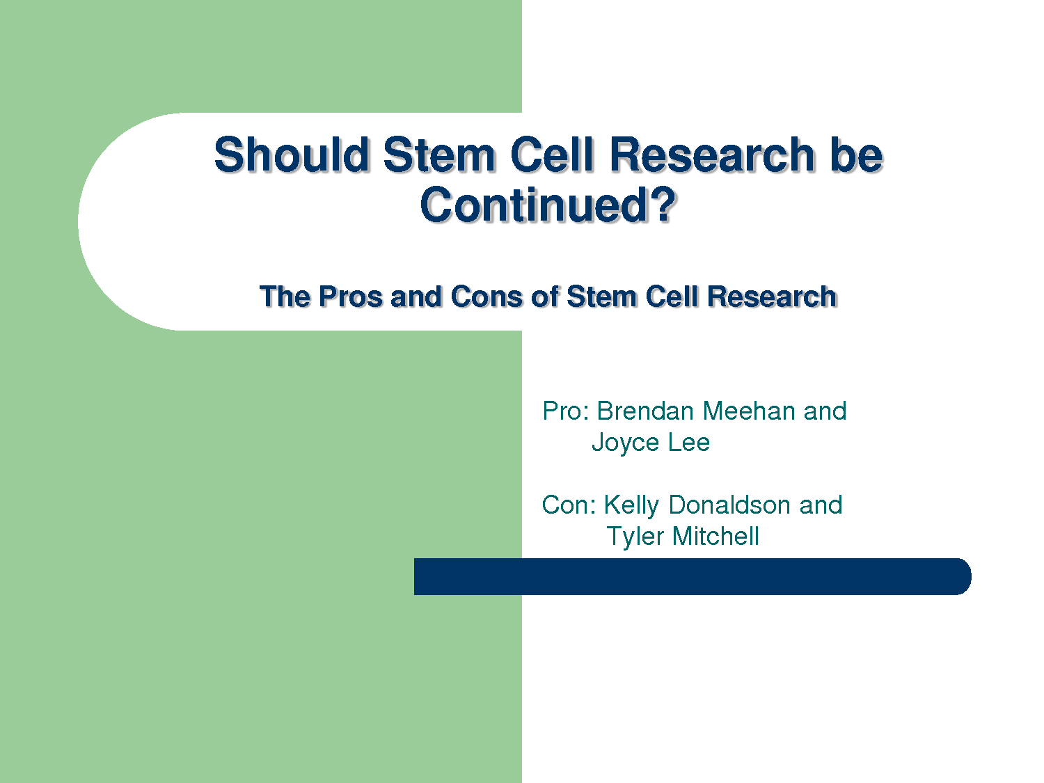 Stem Cells - Assignment Example