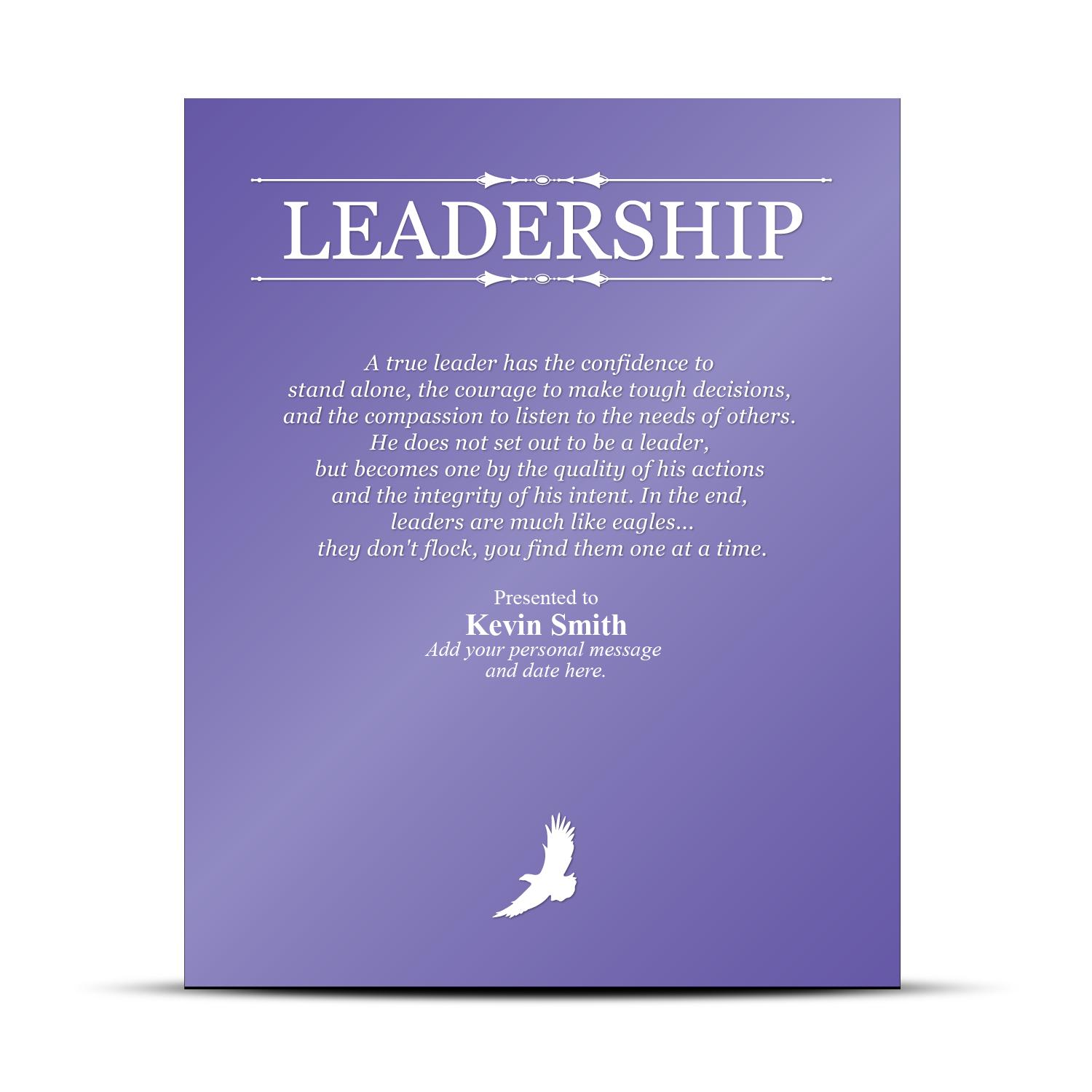 Leadership Quotes For Awards. QuotesGram