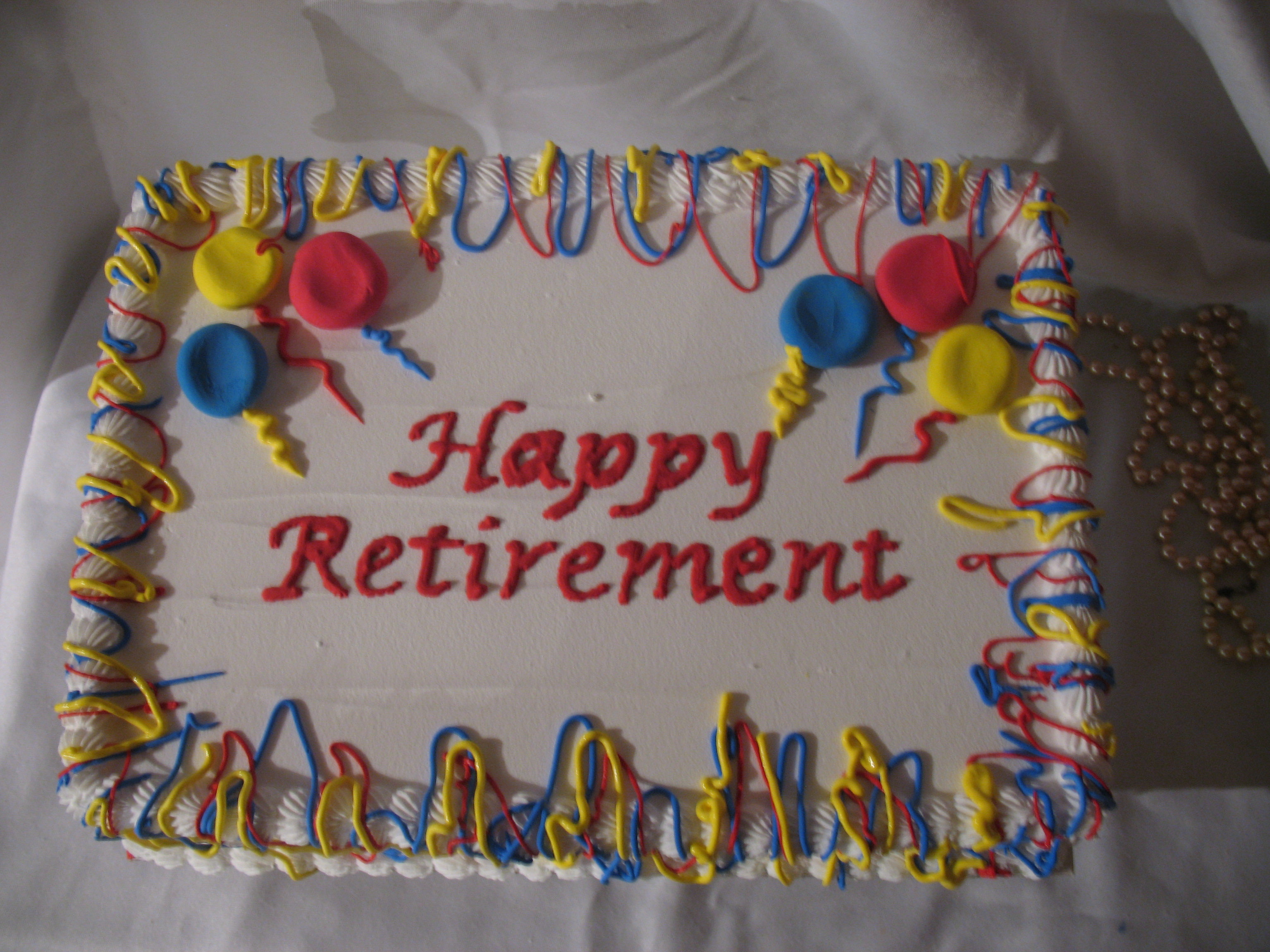 Retirement Cake Sayings Quotes. QuotesGram