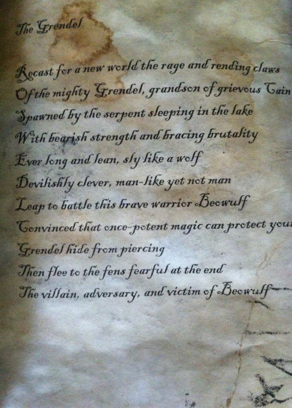 beowulfs loyalty in the poem beowulf Why read beowulf by robert f yeager  a variety of evidence suggests that beowulf began as an oral poem, passed by singers of one generation to the next.