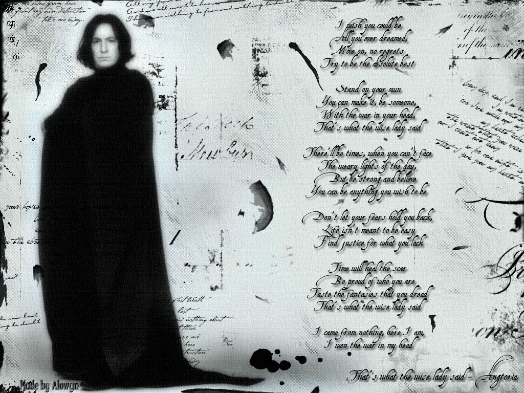 Famous Quotes Severus Snape. QuotesGram