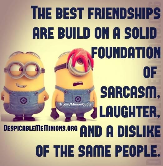 Minion Friendship Quotes: Minion Friendship Quotes. QuotesGram