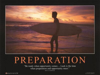 Luck Preparation Famous Quotes. QuotesGram
