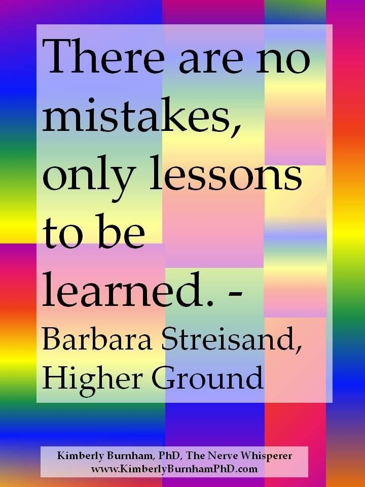 Quotes About Mistakes And Lessons Learned. QuotesGram
