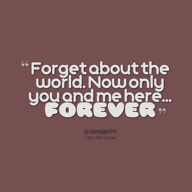 I Love You Quotes: You And Me Forever Quotes. QuotesGram