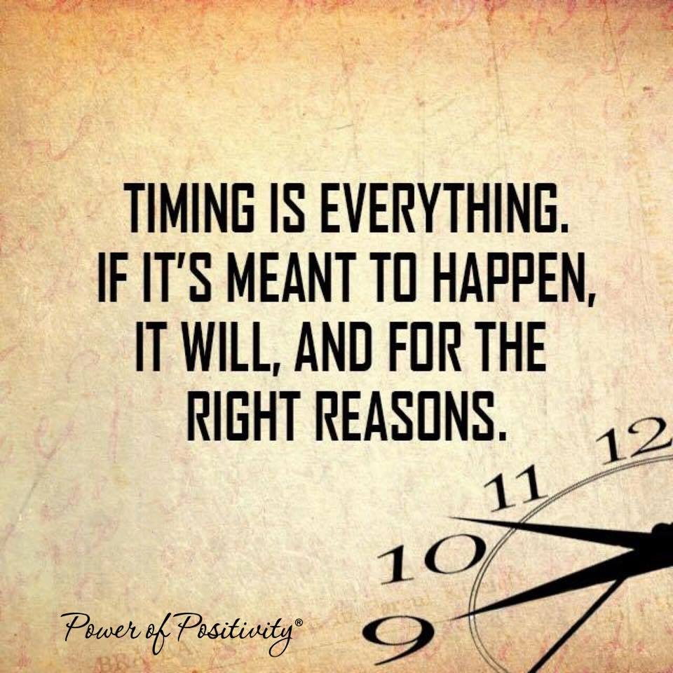 Timing Is Everything And Romance Quotes. QuotesGram