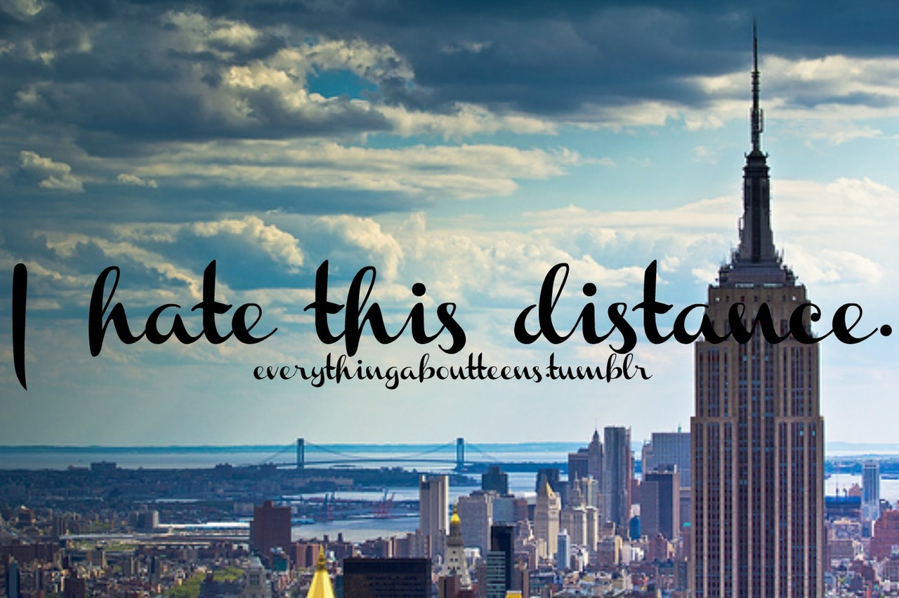 Dating long distance in new york city