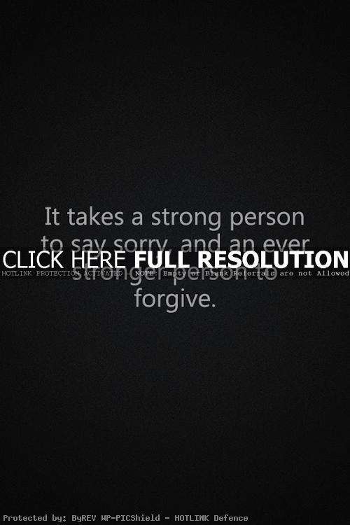Sorry Inspirational Quotes. QuotesGram