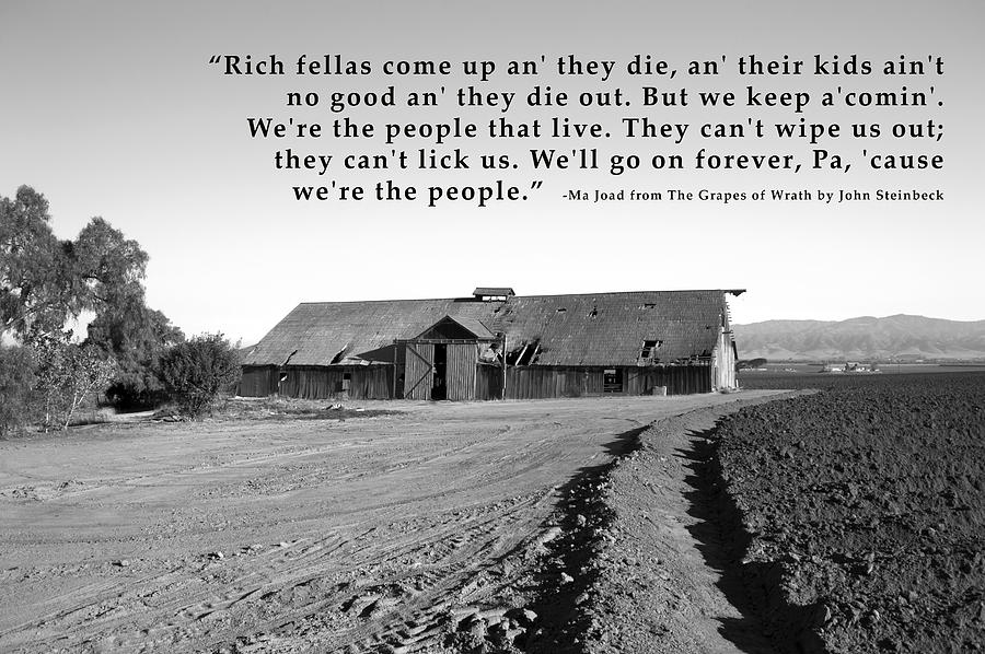 an analysis of the grapes of wrath the people and the depression in the movie Movie essay for grapes of wrath the grapes of wrath is a book made into a movie, based on the great depression throughout the grapes of wrath, people are.
