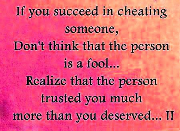 Cheating On Someone You Love Quotes: Quotes About Unfaithful Friends. QuotesGram