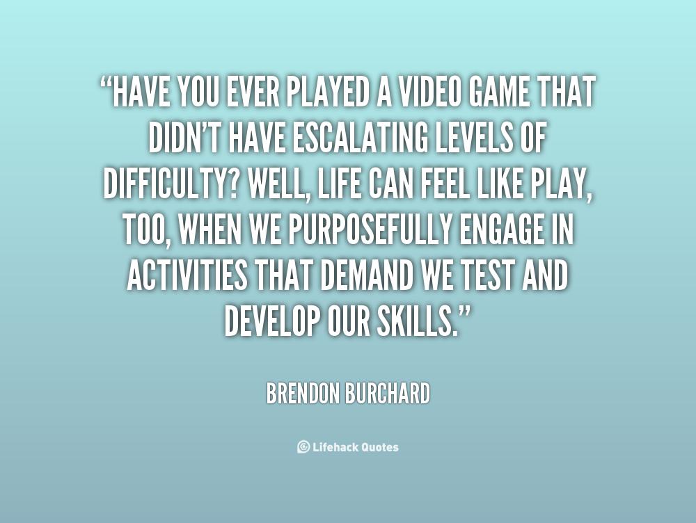 Videogames Quotes. QuotesGram