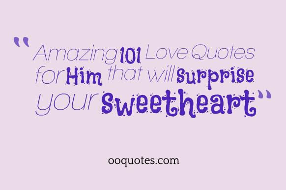 your amazing quotes for him quotesgram