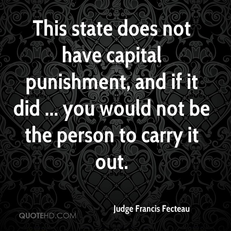 there is not need for capital punishment in our society People invited to a presentation do not need a prezi account  capital punishment's effect on society and crime  the fault is in our system, not the punishment.