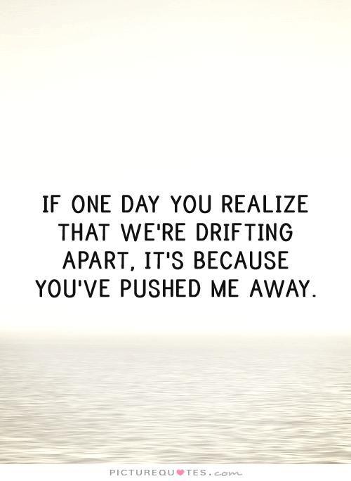 Pushing Me Away Relationship Quotes. QuotesGram