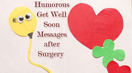 how to wish someone get well soon