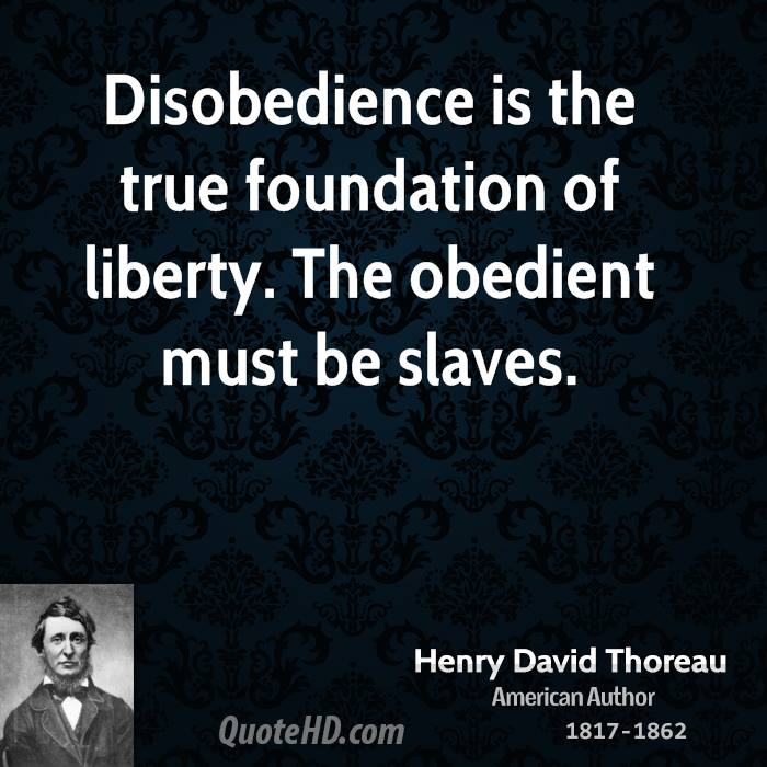 civil disobedience standing up for freedom In the early 1960s, the fundamental prize sought by the civil rights movement was   robert kennedy sent 400 federal marshals to protect the freedom riders and   in june 1963, he upheld his promise to stand in the schoolhouse door to.